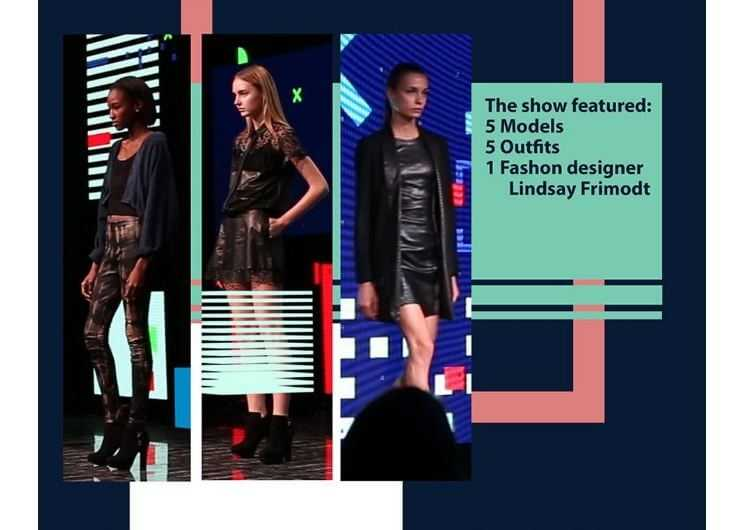 Fashion show in virtual reality