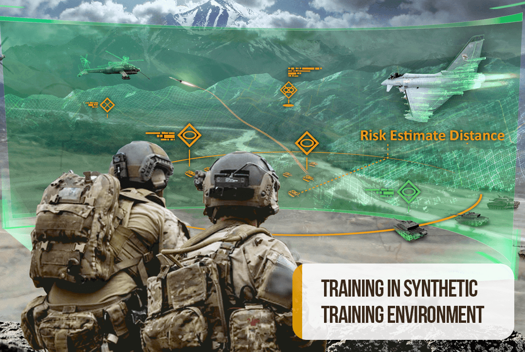 VR FOR THE MILITARY TRAINING