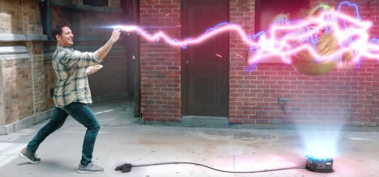 Ghostbusters Augmented Reality