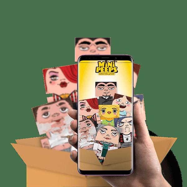 Minipeeps ARGram app