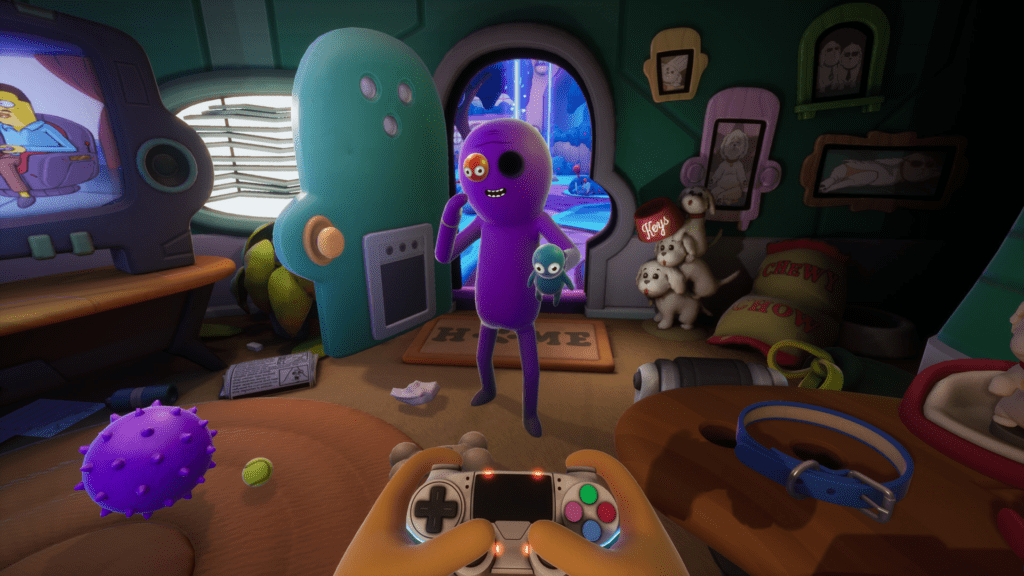 Trover Saves the Universe - VR Game.