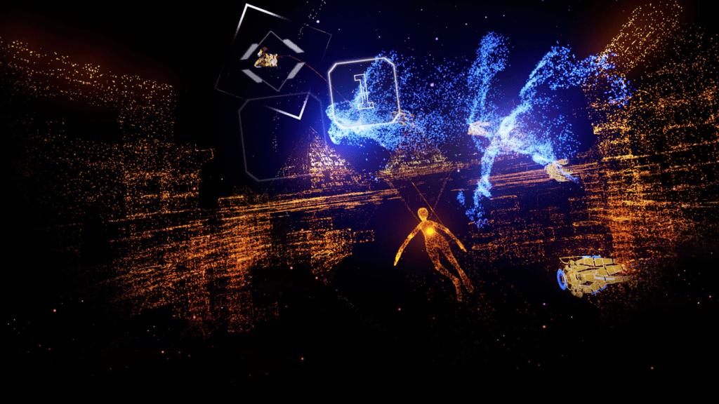 Rez Infinite - VR Game.