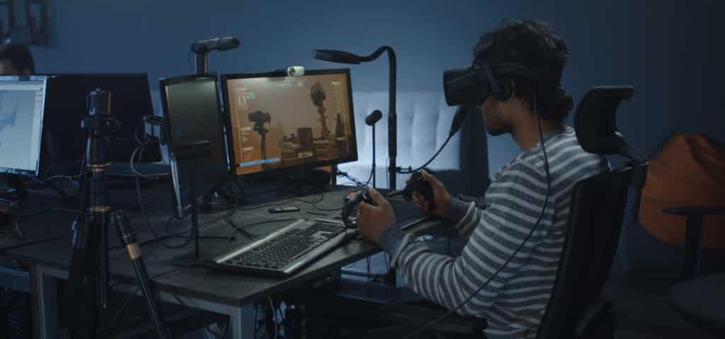 VR game development process