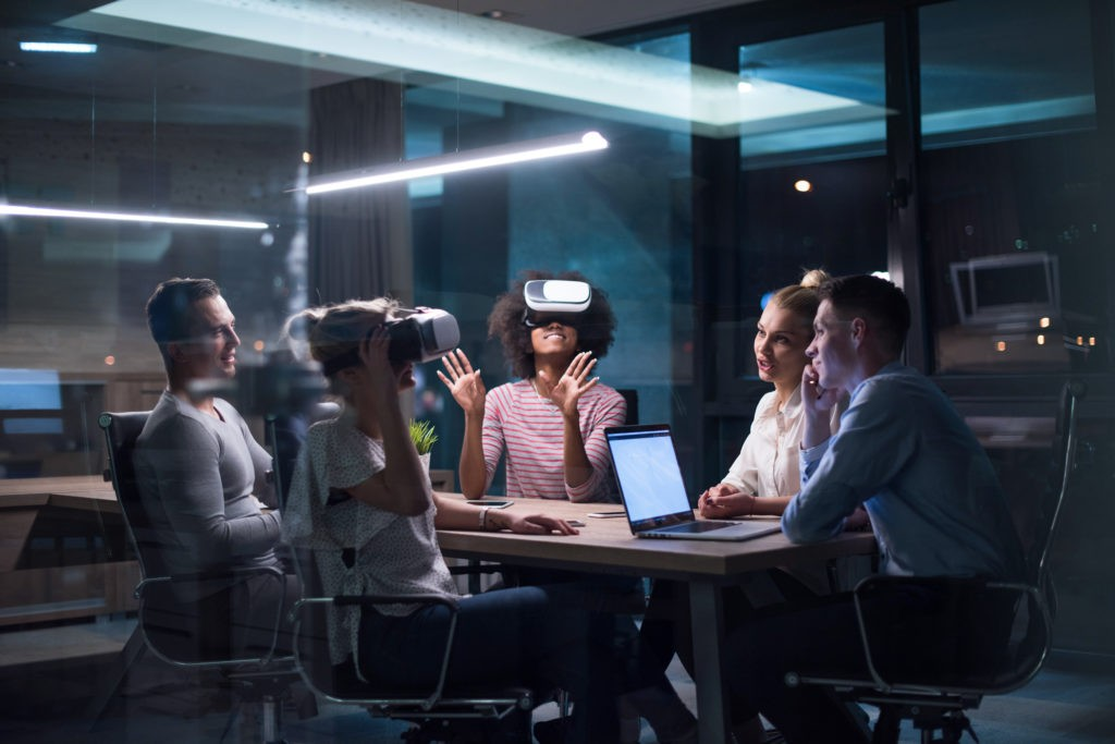 VR implementation in business